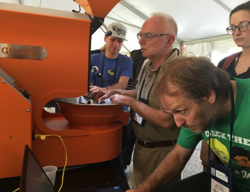 Epic Roasting Session At Roasters Guild 2016