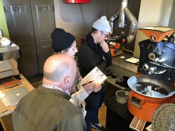 roasting coffee learning