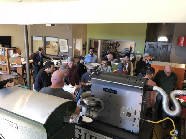 where to learn roasting coffee
